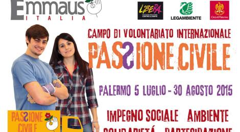 A Palermo volontari da tutto il mondo