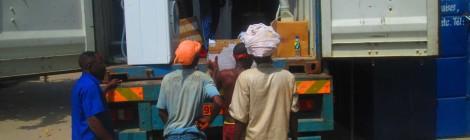 Container arrivato in Benin!