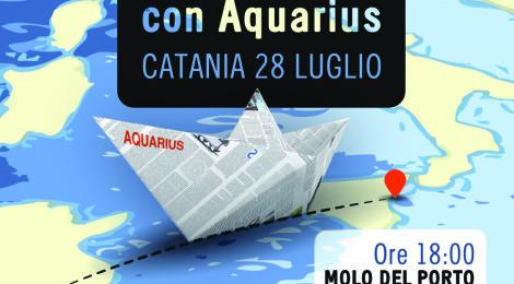 Incontriamoci con Aquarius: un'occasione per riflettere e collaborare insieme nel cuore del Mediterraneo