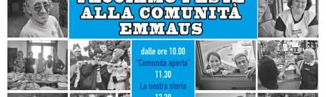 Emmaus Fiesso festeggia i suoi primi 20 anni di vita: vieni a festeggiare con noi!