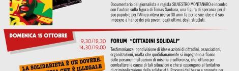 Appuntamento a Torino con Emmaus: 14 e 15 ottobre. Vendita, incontri, testimonianze contro la miseria e per la solidarietà